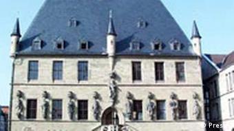 Ратуша в Оснабрюке. Здесь переговоры о заключении Вестфальского мира велись с протестантскими странами.