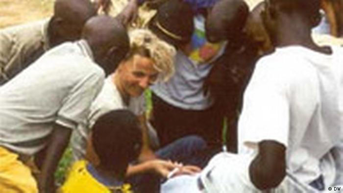 Sandra Petersmann in Congo