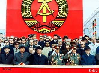 The final military parade of the German Democratic Republic