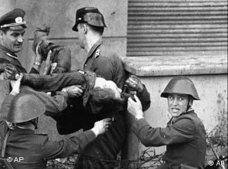 Peter Fechter was one of the first people to be killed at the Berlin Wall