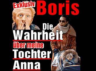 Campaña publicitaria de la autobiografía de Boris Becker.