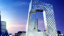 Hauptquartier des Chinesischen Staatsfernsehens Rem Koolhaas