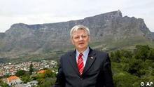 Joschka Fischer in Cape Town Südafrika