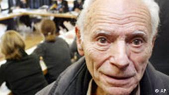 Peter Gingold, a Holocaust survivor