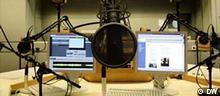 Rundfunkstudio bei der Deutschen Welle in Bonn (DW)