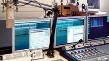 Rundfunkstudio bei der Deutschen Welle in Bonn
