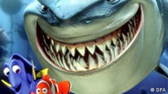 Scena iz animiranog filma U potrazi za Nemom