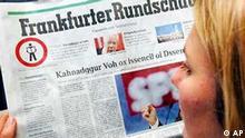 Frankfurter Rundschau für Analphabeten