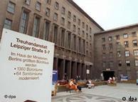 Sede do Fundo Fiduciário, em Berlim