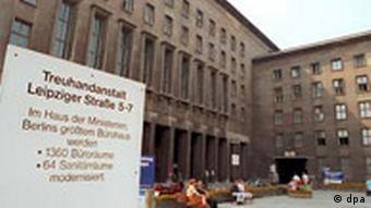 Treuhandanstalt in Berlin Gebäude