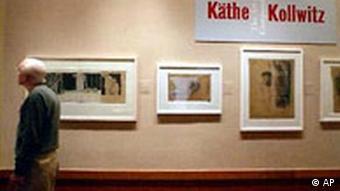 Käthe Kollwitz Ausstellung in USA