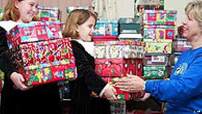 Weihnachtsgeschenke in Kirksville (AP)