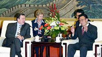 Gerhard Schröder in China