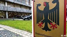 Bundesverfassungsgericht Schild Karlsruhe