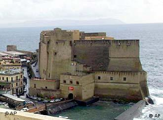 Castel dell'Ovo castle, Naples, Italy, photo
