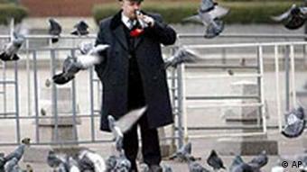 Lenin Doppelgänger in Moskau