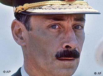 Dossier photo of ex-dictator Jorge Rafael Videla
