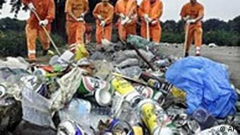 Müllmänner in Berlin