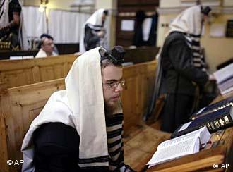 Juden beim Gebet