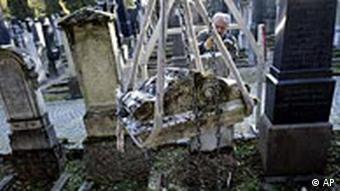 Juden in Deutschland Grabsteine in Regensburg