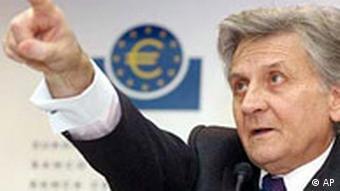 EZB Präsident Jean-Claude Trichet in Frankfurt