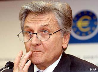 Auch er bekam eine Briefbombe: Jean-Claude Trichet