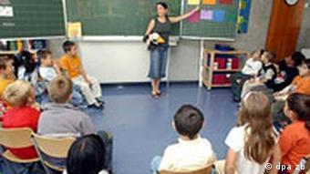 Schulunterricht in Stutgart