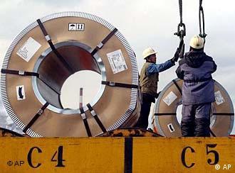 فولاد از جمله کالاهای صادراتی کره جنوبی به ایران است