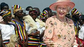 Commonwealth Königin Elizabeth in Nigeria