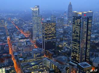 Uneasy about the future: Frankfurt, Germany's financial capital
