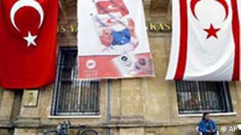 Wahlen Nordzypern Flagge