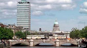 Dublin city portrait