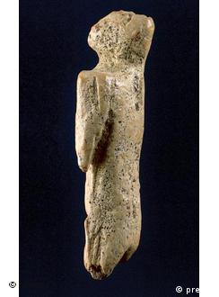 The lion man sculpture was one of the intricate trio found near Ulm