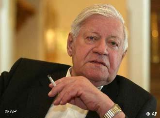 Helmut Schmidt was chancellor from 1974-1982.