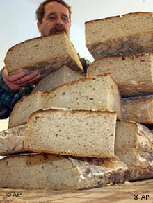 Brot von der Schweriner Tafel