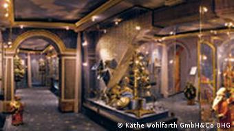 Weihnachtsmuseum von Innen