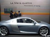 Audi Le Mans quattro на автосалоне в Детройте