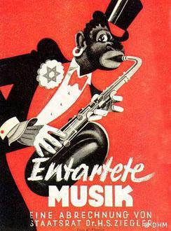 Cartaz da ópera se tornou símbolo de 'música degenerada'