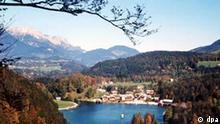 Königssee in Oberbayern