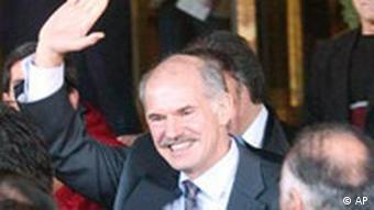 Griechenlands Außenminister George Papandreou