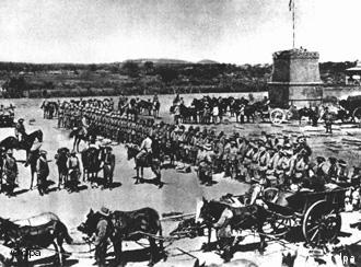 German Kaiser Wilhelm II sent thousands of soldiers to put down the Herero insurrection in 1904.