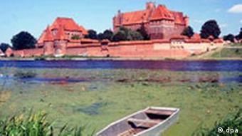 Burg Marienburg in Polen