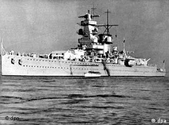 The Graf Spee claimed many kills before being crippled by allied ships and sunk by its own captain.
