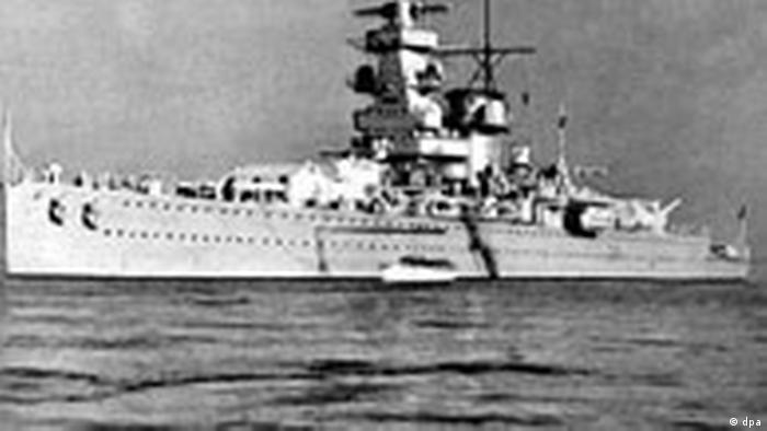 Das Panzerschiff Admiral Graf Spee