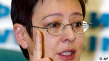 Irina Chakamada Präsidentschaftskandidat Russland
