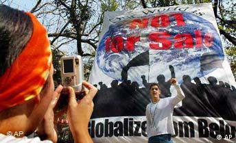 Weltsozialforum in Bombay freies Bildformat