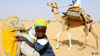 Flüchtlinge aus dem Sudan in Chad