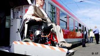 Niemieckie pociągi są przystosowane do potrzeb niepełnosprawnych