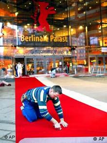 Galerie Berlinale Palast mit rotem Teppich