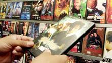 Raubkopierte DVDs